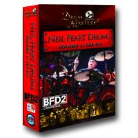 Neil Peart Drums Vol. 1: The Kit for BFD2 /3