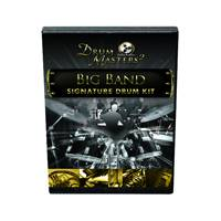 Drum Masters 2: Big Band Stereo Drum Kit<BR>Infinite Player library for Kontakt